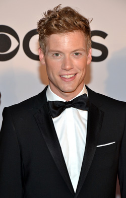 Barrett Foa at the 2013 Tony Awards.