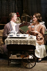 Dale Carman and Victoria Mack in <i>The Silver Cord</i> at the Theatre at St. Clement's