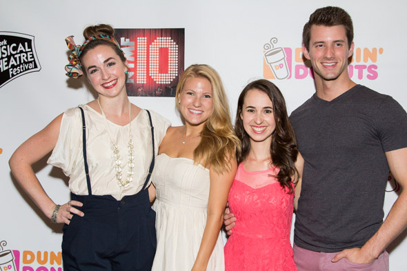 The cast of <i>Bend in the Road</i>.<br />(© Seth Walters)
