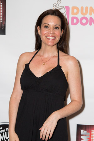 Jenna Leigh Green is excited to celebrate the NYMF!<br />(© Seth Walters)