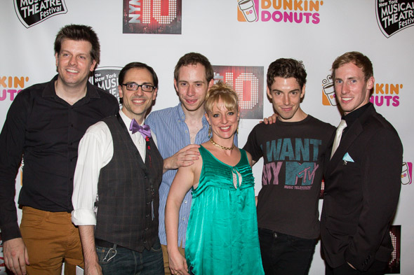 The cast of <i>Homo: The Musical</i>.<br />(© Seth Walters)