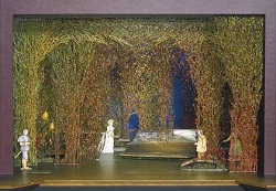 Tony Straiges' original scenic model for <i>Into the Woods</i>
