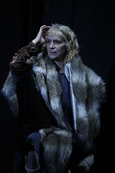 Amanda Plummer in <i>The Two-Character Play</i> at New World Stages