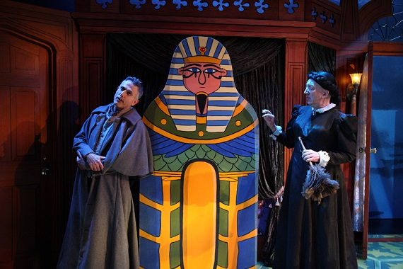 David Greenspan and Tom Aulino in <i>The Mystery of Irma Vep</i>