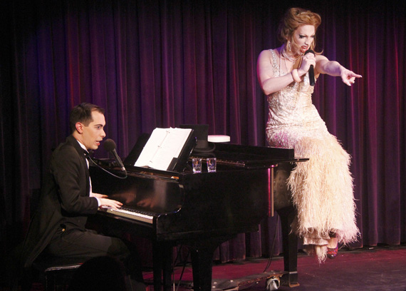 Major Scales and Jinkx Monsoon in The Vaudevillians.