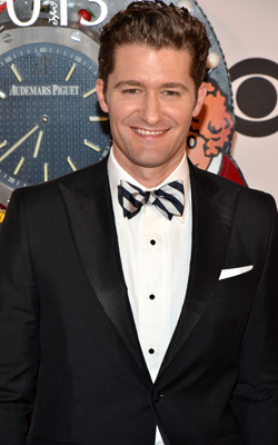 Matthew Morrison at the 2013 Tony Awards.