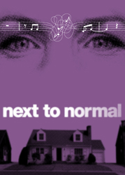 <i>Next to Normal</i> Broadway show art.