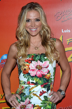 Television personality Debbie Matenopoulos is thrilled to have seen Broadway's <i>Forever Tango</i>.<br />(© David Gordon)
