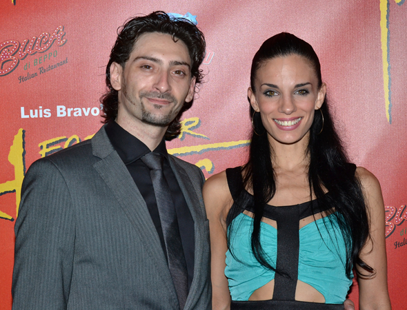 Juan Paulo Horvath and Victoria Galoto have been with <i>Forever Tango</i> since the mid-2000s.<br />(© David Gordon)