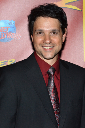 Former karate kid Ralph Macchio is on hand to celebrate the Broadway opening of his <i>Dancing with the Stars</i> partner, Karina Smirnoff.<br />(© David Gordon)