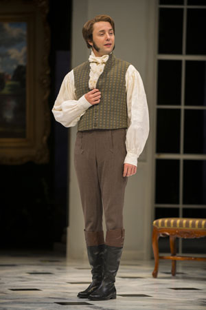 Vincent Kartheiser as Mr. Fitzwilliam Darcy.<br />(© Michael Brosilow)