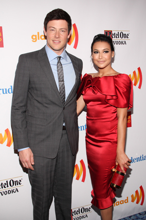 On March 24, 2012, Monteith was joined by his <i>Glee</i> co-star Naya Rivera to host the 23rd annual GLAAD Media Awards at the Marriott Marquis in Times Square.<br />(© Tristan Fuge)