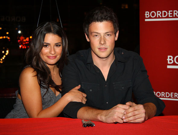 To celebrate the release of the CD <i>Glee: The Music, Volume 1</i>, Monteith and cast members including Lea Michele visited the now-defunct Borders Columbus Circle on November 3, 2009 to greet fans and sign copies of the album.<br />(© Tristan Fuge)
