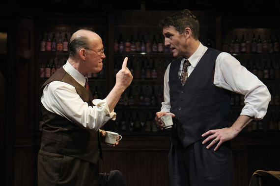 Timothy Crowe and Patrick Boll in <I>Bill W. and Dr. Bob</I>.