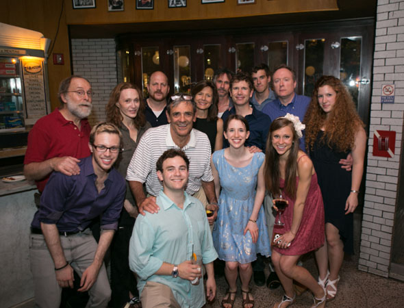 The cast of <i>The Castle</i>.<br />(© Jimmy Ryan)
