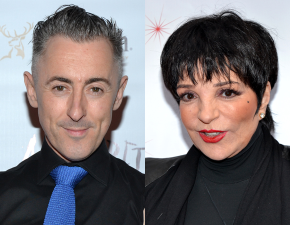 Alan Cumming and Liza Minnelli
