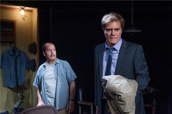 Guy Van Swearingen and Michael Shannon in <i>Simpatico</i>