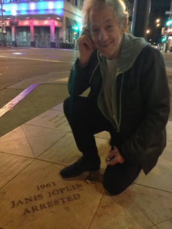 "July 15: ""It's true...the boys are in Berkeley.""—Sir Patrick Stewart<br />(via @SirPatStew)"