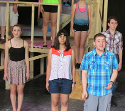 "Alex Boyd leads the cast in ""Bui Doi."""