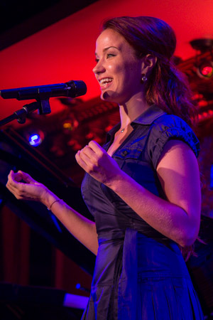 Sierra Boggess is set to perform at 54 Below August 19 and 26.<br />(© Seth Walters)
