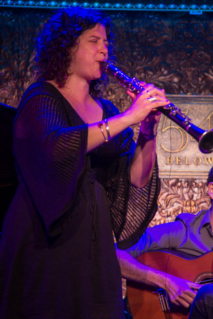 Anat Cohen tears it up on the clarinet.<br />(© Seth Walters)