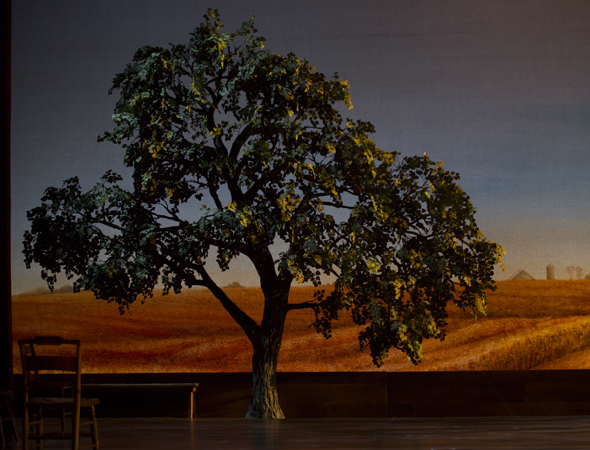 <i>The Bridges of Madison County</i> features scenic design by Michael Yeargan. <br />(© T Charles Erickson)