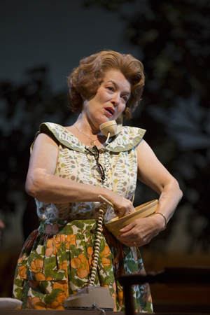 Cass Morgan takes on the role of Marge in the Williamstown cast.<br />(© T Charles Erickson)