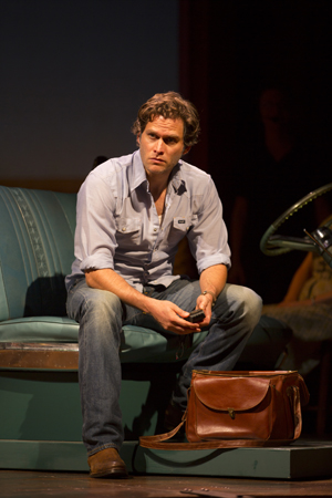 Steven Pasquale will reprise his role as National Geographic photographer Robert Kincaid on Broadway this winter. <br />(© T Charles Erickson)