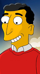Mike Reiss as a character from <i>The Simpsons</i>