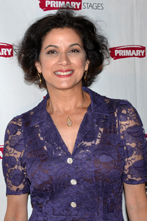 <i>Guiding Light</i> cast member Saundra Santiago is excited to root for her TV brother, <i>Harbor</i> star Paul Anthony Stewart.<br />(© David Gordon)