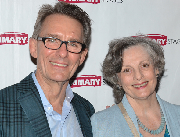 Dana Ivey is on hand to congratulate her pal, director Mark Lamos.<br />(© David Gordon)