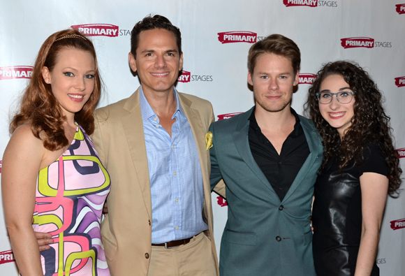 The cast of <i>Harbor</i>: Erin Cummings, Paul Anthony Stewart, Randy Harrison, and Alexis Molnar.