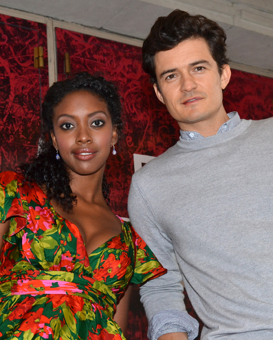 <i>Romeo and Juliet</i> stars Condola Rashad and Orlando Bloom