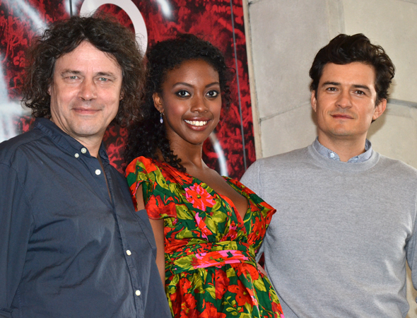 Check out David Leveaux's production of William Shakespeare's <i>Romeo and Juliet</i>, starring Condola Rashad and Orlando Bloom, beginning August 24.<br />(© David Gordon)
