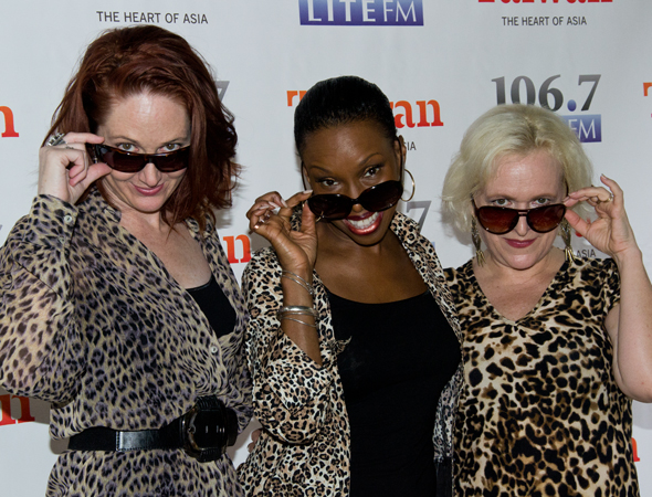 <i>Cougar the Musical</i> stars Mary Mossberg, Brenda Braxton, and Babs Winn.<br />(© David Gordon)