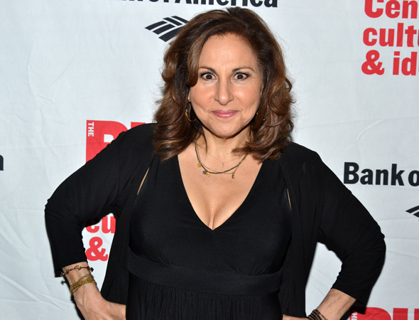 Kathy Najimy would never miss an evening of Shakespeare.<br />(© David Gordon)