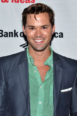 Andrew Rannells is excited for his pal Patti Murin.<br />(© David Gordon)