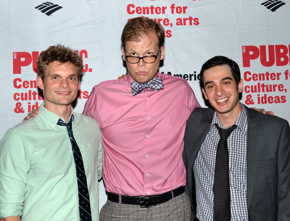 Andrew Durand, Jeff Hiller, and Justin Levine are comic gems throughout.<br />(© David Gordon)