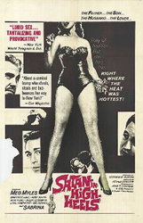 <i>Satan in High Heels</i> 1962 film poster