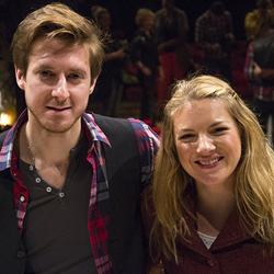 <i>Once</i> stars Arthur Darvill and Joanna Christie.
