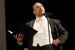 Anti-union boss: Danny Burstein as Mr. Mister in <i>The Cradle Will Rock</i>