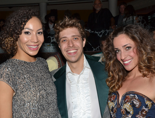 Featured in the ensemble are Afra Hines, Richard Cerato, and Dianna Barger.<br />(© David Gordon)