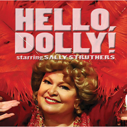 <i>Hello, Dolly!</i> show art (courtesy of Big League Productions)