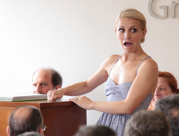 Annaleigh Ashford sings a number from <i>Funny Girl</i>.<br />(© Seth Walters)
