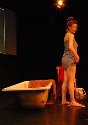 A scene from <i>Human Fruit Bowl</i>