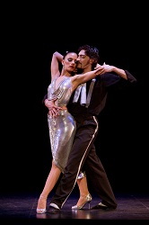 Victoria Galoto and Juan Paulo Horvath in <i>Forever Tango</i>