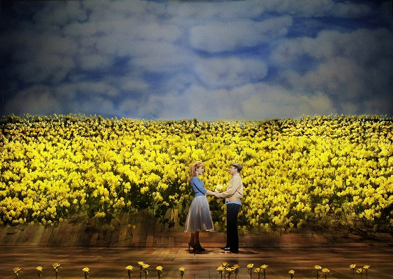 Kate Baldwin and Norbert Leo Butz in  <i>Big Fish</i>