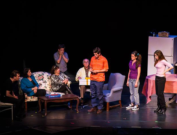 The cast of <i>Perfectly Normel People</i>, TheaterMania Audience Choice Favorite from FringeNYC 2013 (photo courtesy of the <i>Perfectly Normel People</i> Facebook page).