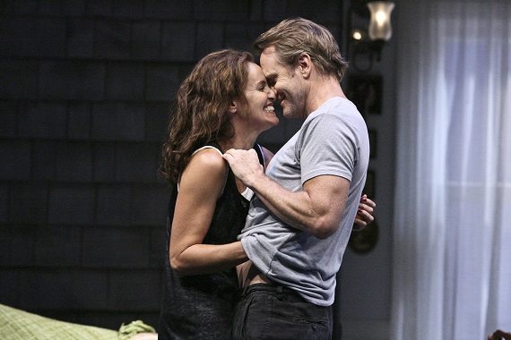 Amy Brenneman and Lee Tergesen in <i>Rapture, Blister, Burn</i>