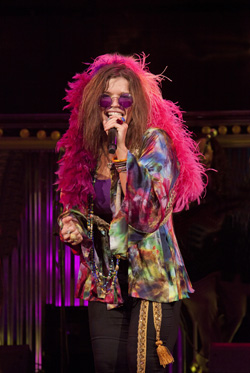 Mary Bridget Davies in A Night with Janis Joplin.